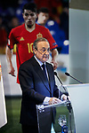 Florentino Perez during the official presentation of Brahim Diaz as Real Madrid's football player at Santiago Bernabeu Stadium in Madrid, Spain. January 07, 2019. (ALTERPHOTOS/A. Perez Meca)