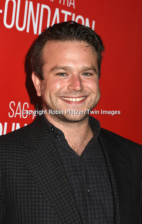 Robin Williams's son Zach Williams attends the Grand Opening of SAG-AFTRA Foundation Robin Williams Center on October 5, 2016 at The Robin Williams Center in New York, New York, USA.<br /> <br /> photo by Robin Platzer/Twin Images<br />  <br /> phone number 212-935-0770