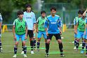 Football/Soccer: U-15 Japan national team training camp