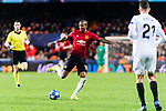 Ashley Young of Manchester United in action during the UEFA Champions League 2018-19 match between Valencia CF and Manchester United at Estadio de Mestalla on December 12 2018 in Valencia, Spain. Photo by Maria Jose Segovia Carmona / Power Sport Images