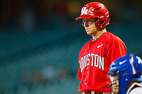 Ryan Still #2 of the Houston Cougars looks to his third base coach for the signs during the game against the Kentucky Wildcats at Minute Maid Park on March 5, 2011 in Houston, Texas.  Photo by Brian Westerholt / Four Seam Images