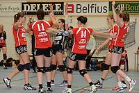 Bevo Roeselare - VT Brugge : vreugde bij Roeselare<br /> foto VDB / BART VANDENBROUCKE