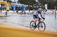 French National Champion Amandine Fouquenet (FRA/Arkea)<br /> <br /> Women's elite Race <br /> Zilvermeercross Mol (BEL) 2021<br /> <br /> ©Kramon