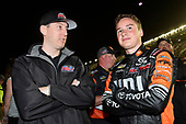 2017 Camping World Truck - NextEra Energy Resources 250<br /> Daytona International Speedway, Daytona Beach, FL USA<br /> Friday 24 February 2017<br /> Christopher Bell and Kyle Busch<br /> World Copyright: Nigel Kinrade/LAT Images<br /> ref: Digital Image 17DAY2nk09736
