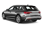 Car pictures of rear three quarter view of a 2020 Audi A4 S-Line 5 Door Wagon angular rear