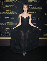 """October 12, 2021.Dasha Nekrasova attend HBO's """"Succession"""" Season 3 Premiere at the  American Museum of Natural History in New York October 12, 2021 Credit: RW/MediaPunch"""