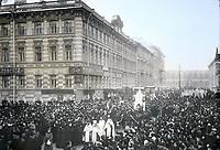 Похороны композитора Петра Ильича Чайковского, 1893 год. / Funeral of composer Pyotr Ilyich Tchaikovsky, 1893.
