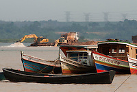 Embarcações  no rio Tocantins .<br /> Tucuruí, Pará, Brasil.<br /> Paulo Santos<br /> 29/10/2010