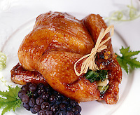 Cornish Hen With Champagne Grape