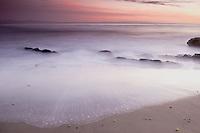 an amazing storm over the Gaviota Coast at Sunset,