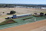 A view from the roof at Oaklawn Park  in Hot Springs, Arkansas on January 20, 2014. (Credit Image: © Justin Manning/Eclipse/ZUMAPRESS.com)