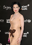 February 20,2009: Dita Von Teese at The Montblanc Signature for Good Charity Gala held at Paramount Studios in Hollywood, California. Credit: RockinExposures