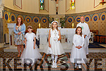 Lixnaw 1st  Communion: M/s Susan Browne's  communion class from Scoil Mhiure gan Small, Lixnaw who received their 1st Communion from Fr. Anthony O'Sullivan at St. Michael's Church, Lixnaw on Saturday last.