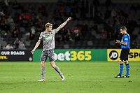 6th April 2021; Bankwest Stadium, Parramatta, New South Wales, Australia, Australian A League football, Western Sydney Wanderers versus Central Coast Mariners; Matthew Simon of Central Coast Mariners leaves the field after being substituted