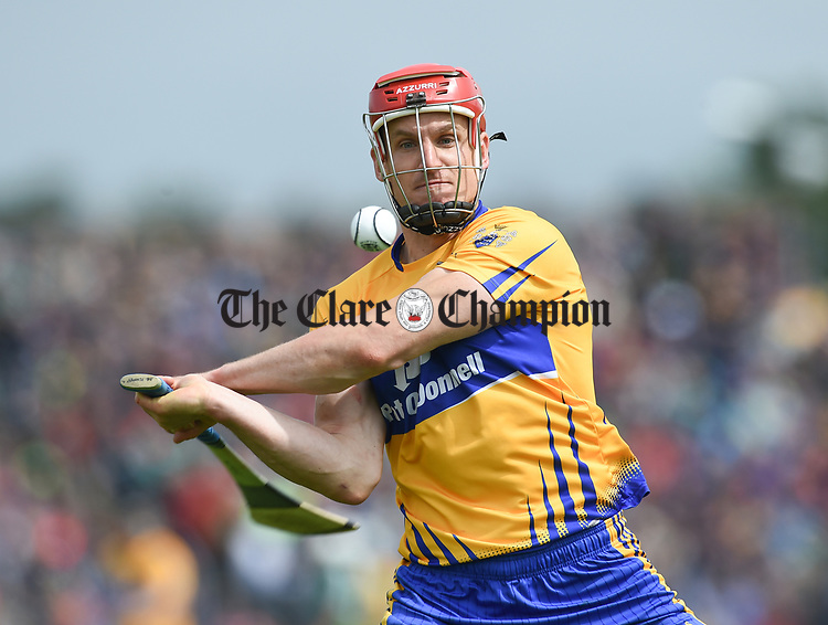John Conlon of Clare during their Munster championship game in Ennis. Photograph by John Kelly.