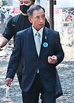 Former Chief of Staff, Japan's Air Self-Defense Force, Toshio Tamogami is seen visits at the Yasukuni Shrine in Tokyo, Japan on August 15, 2020. (Photo by AFLO)