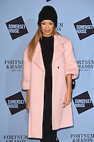Sarah Jane Crawford<br /> at the launch of the Skate at Somerset House ice rink, London.<br /> <br /> ©Ash Knotek  D3199  16/11/2016