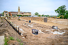 May 27, 2021; Construction of Raclin Murphy Museum of Art (Photo by Matt Cashore/University of Notre Dame)