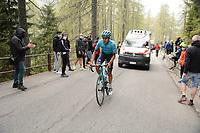 29th May 2021;  Giro D italia stage 20 Valle Spluga to Alpe Motta; Astana - Premier Tech Tejada Canacue, Harold Alfonso in Alpe Motta