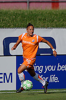 Julianne Sitch (38) of Sky Blue FC. Sky Blue FC defeated the Boston Breakers 1-0 during a Women's Professional Soccer match at Yurcak Field in Piscataway, NJ, on July 4, 2009.