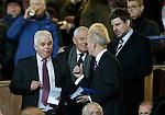 New Rangers company secretary James Blair with Walter Smith and Chris Graham