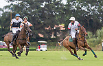 January 17, 2021:  Santa Clara Polo Club defeats Beverly Polo Club 10-7 in the Joe Barry Memorial Cup Final, at the International Polo Club, Palm Beach, on January 17, 2021, in Wellington, Florida. Santa Clara's Keko Magrini was Most Valuable Player. Yatay Shazam, played by Tolito Ocampo and owned by Beverly Equestrian was Best Playing Pony. (Photo by Liz Lamont/Eclipse Sportswire/CSM