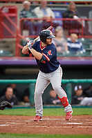 Portland Sea Dogs Joey Curletta (35) at bat during an Eastern League game against the Erie SeaWolves on June 17, 2019 at UPMC Park in Erie, Pennsylvania.  Portland defeated Erie 6-3.  (Mike Janes/Four Seam Images)