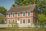 "Clinton, CT Historical Society. Elisha White House, ""Old Brick"" 1750"
