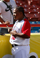 Ronnie Belliard / Dominican Republic - 2009 Caribbean Series, Mexicali..Photo by:  Bill Mitchell/Four Seam Images