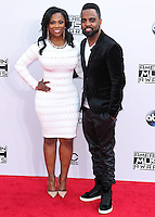 LOS ANGELES, CA, USA - NOVEMBER 23: Kandi Burruss, Todd Tucker arrive at the 2014 American Music Awards held at Nokia Theatre L.A. Live on November 23, 2014 in Los Angeles, California, United States. (Photo by Xavier Collin/Celebrity Monitor)