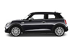 Car Driver side profile view of a2015 MINI MINI COOPER S 3 Door Hatchback 2WD Side View