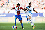 Yannick Ferreira-Carrasco of Atletico Madrid fights for the ball with Fede Cartabia of Deportivo de la Coruna during their La Liga match between Atletico Madrid and Deportivo de la Coruna at the Vicente Calderon Stadium on 25 September 2016 in Madrid, Spain. Photo by Diego Gonzalez Souto / Power Sport Images