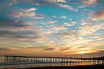 BLUE RIBBON/1st place in Sunrise, Sunset, Cloud category   Cayucos Pier at Sunset<br /> Mariposa County Fair - Award Winning Images<br /> Fine Art Landscape  <br /> Photo by Joelle Leder Photography Studio ©