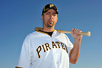 Feb 28, 2010; Bradenton, FL, USA; Pittsburgh Pirates  outfielder Brian Myrow (76) during  photoday at Pirate City. Mandatory Credit: Tomasso De Rosa/ Four Seam Images