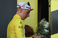 6th July 2021, Albertville, Auvergne-Rhône-Alpes, France;  TOUR DE FRANCE 2021- UCI Cycling World Tour. Stage 10 from Albertville to Valence on the 6th of July 2021, Valence, France. <br /> Tadej Pogacar Slovenia Uae Team Emirates