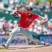 31 May 2018: Portland Sea Dogs pitcher Daniel McGrath on the mound against the New Hampshire Fisher Cats at Northeast Delta Dental Stadium in Manchester, NH. The Sea Dogs rallied to defeat the Fisher Cats 12-9 in extra innings. Mandatory Credit: Ed Wolfstein Photo *** RAW (NEF) Image File Available ***