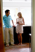 Couple standing in kitchen<br />
