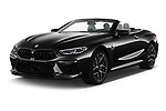 2021 BMW M8 M8-Competition 2 Door Coupe Angular Front automotive stock photos of front three quarter view