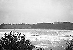 Niagara Falls, New York:  View of the Horseshoe Falls from Goat Island.