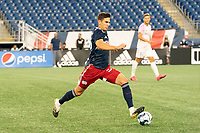 FOXBOROUGH, MA - SEPTEMBER 04: Collin Verfurth #35 of New England Revolution II during a game between Forward Madison FC and New England Revolution II at Gillette Stadium on September 04, 2020 in Foxborough, Massachusetts.