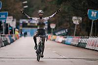 Ceylin del Carmen Alvarado (NED/Alpecin-Fenix) wins the X2O Herentals Cross 2020 (BEL)<br /> <br /> ©kramon