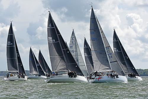 J/111 fleet Photo: Rick Tomlinson