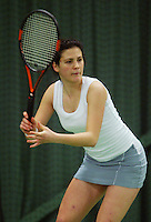 10-3-06, Netherlands, tennis, Rotterdam, National indoor junior tennis championchips, Aleksandra Malovic