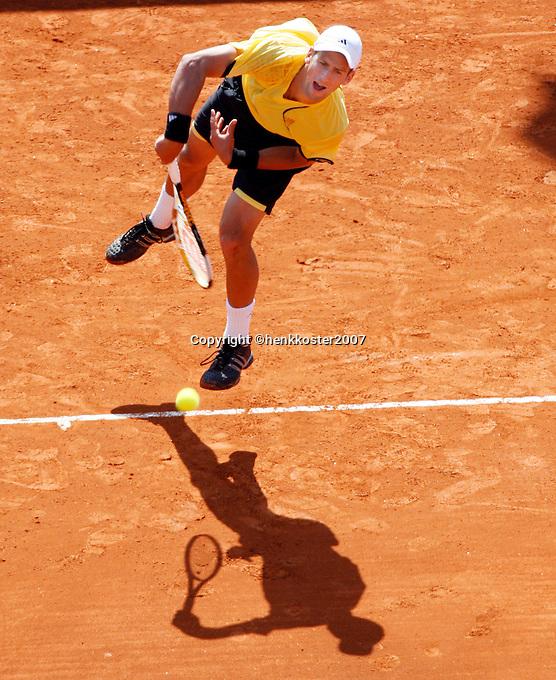 18-4-07, Monaco,Master Series Monte Carlo, Goudio  Djokovic