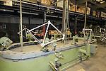 Frame building De Rosa factory, Cusano Milanino, Italy. 30th September 2015.<br /> Picture: Eoin Clarke   Newsfile