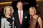 From left: Lynn Wyatt, the Chronicle's Jack Sweeney and Kelli Blanton at the Houston Chronicle's Best Dressed announcement party at Neiman Marcus Wednesday Feb 01,2012. (Dave Rossman/For the Chronicle)
