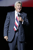 Jay Leno, host of NBC's The Tonight Show, performs the first of two sold-out shows in the Avalon Theatre at Fallsview Casino Resort in Niagara Falls, Canada, on July 4th. (CNW Group/Fallsview Casino Resort)