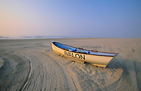 Lifeguard Boat on the beach, Avalon, New Jersey