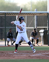 Andrew Vaughn plays for the USA Baseball Premier 12 Team in a game against Central Arizona College at the Kansas City Royals complex on October 27, 2019 in Surprise, Arizona (Bill Mitchell)