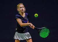 Hilversum, Netherlands, December 3, 2017, Winter Youth Circuit Masters, 12,14,and 16 years, Charlotte Pikkaart (NED)<br /> Photo: Tennisimages/Henk Koster